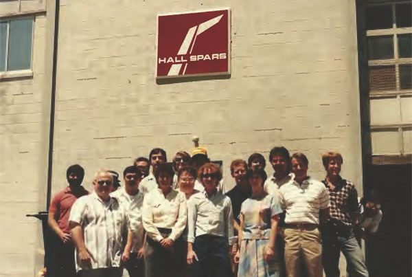 Hall Spars founded in 1980
