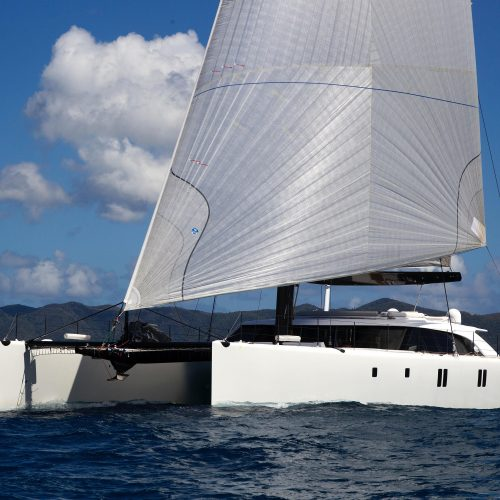 multihull sunshine hall spars
