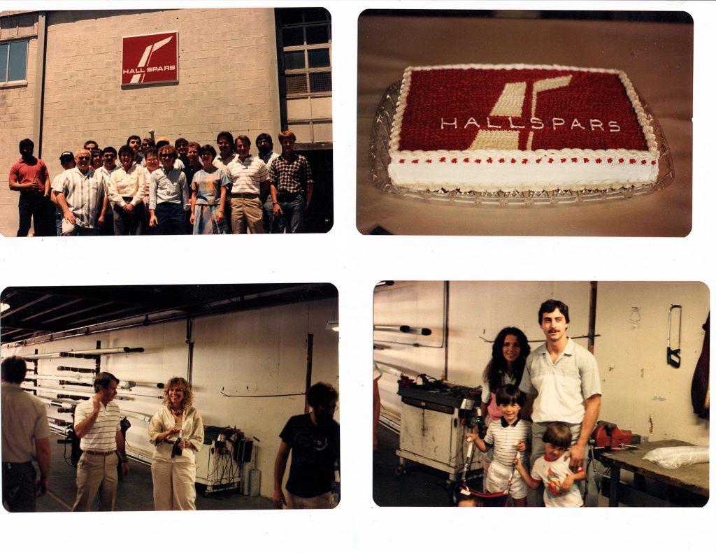 Hall Spars Anniversary