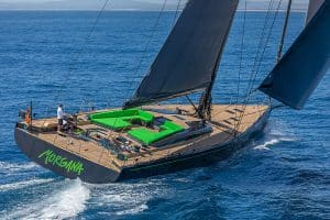 Hall Spars southern wind carbon mast boom